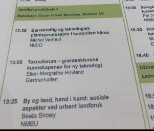 TeknoForum på LandTek
